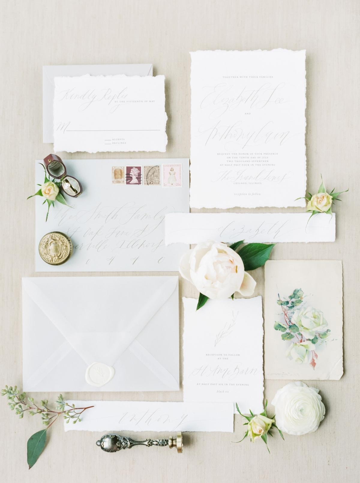 Chicago Loft Bridal Inspiration
