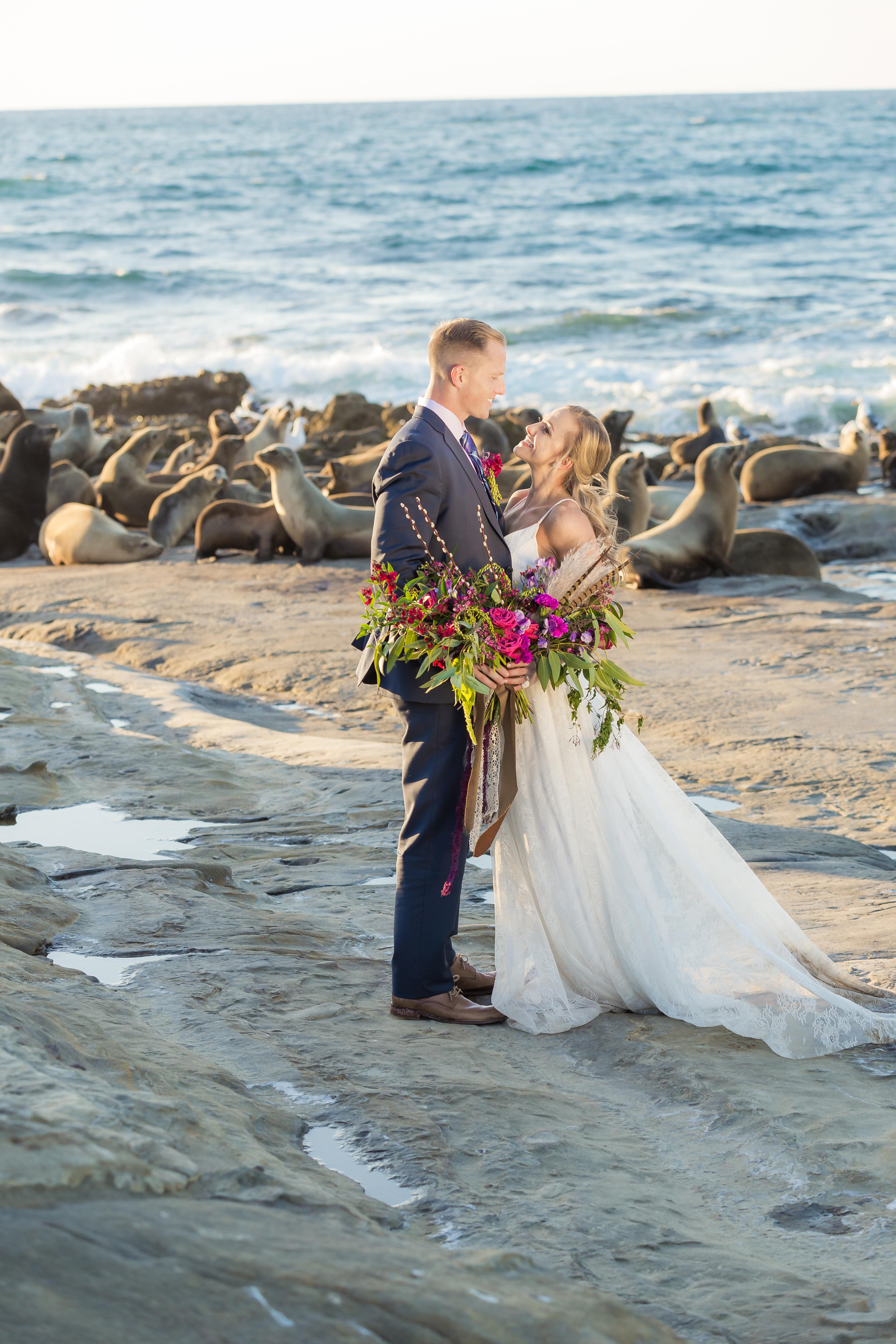 La Jolla Cove Wedding