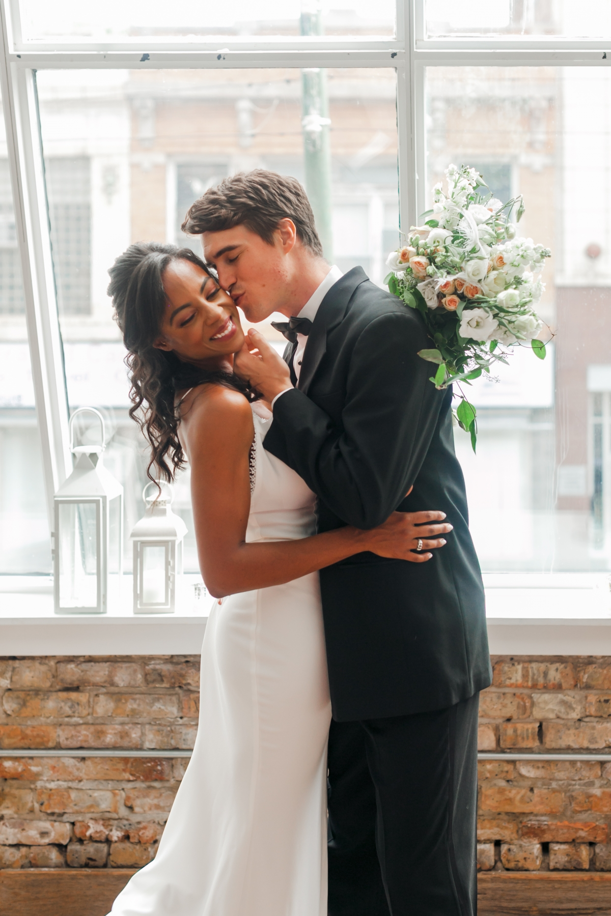 Chicago DL Loft Wedding Inspiration Janet D Photography 16