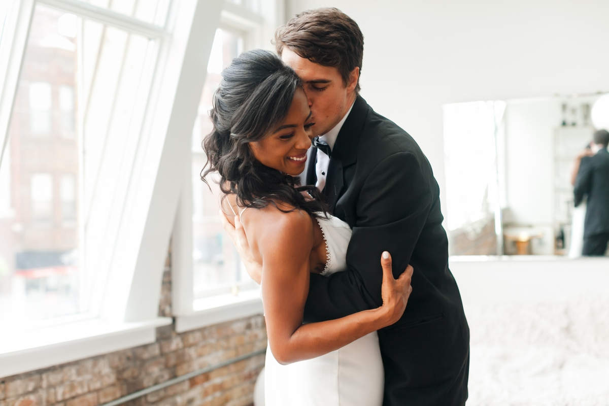 Chicago DL Loft Wedding Inspiration Janet D Photography 21