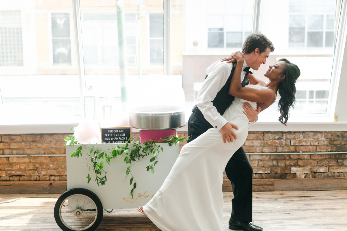 Chicago DL Loft Wedding Inspiration Janet D Photography 32