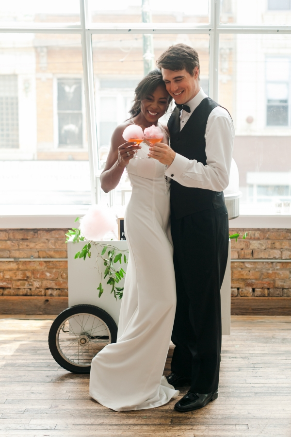 Chicago DL Loft Wedding Inspiration Janet D Photography (33)