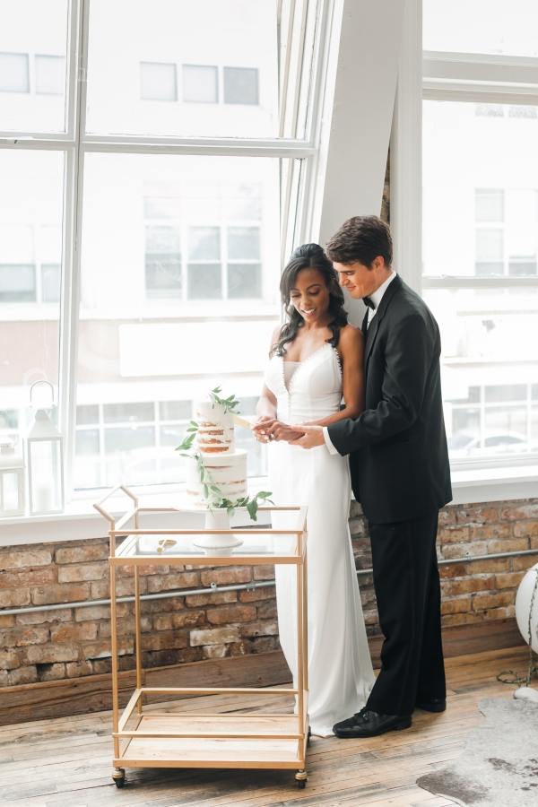 Chicago DL Loft Wedding Inspiration Janet D Photography (36)