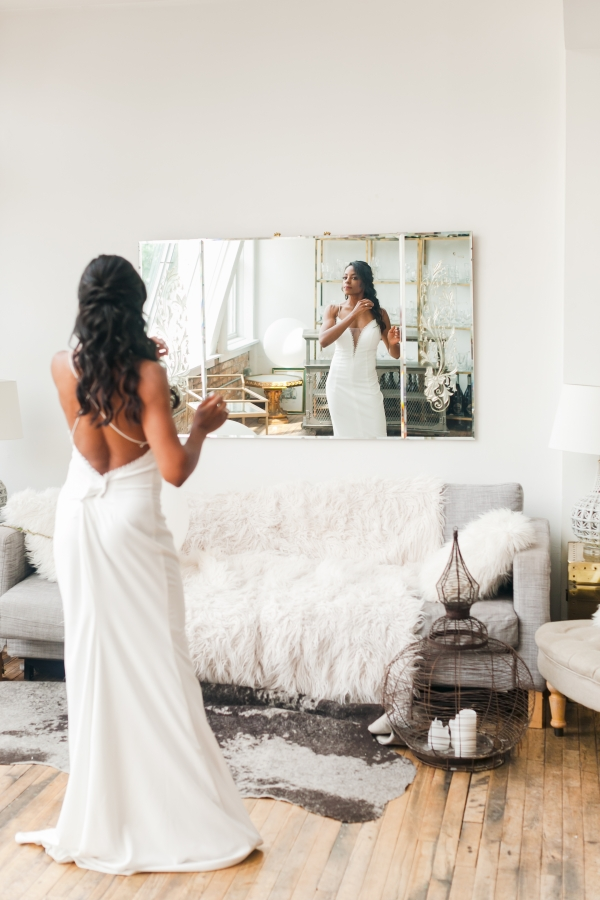 Chicago DL Loft Wedding Inspiration Janet D Photography (42)