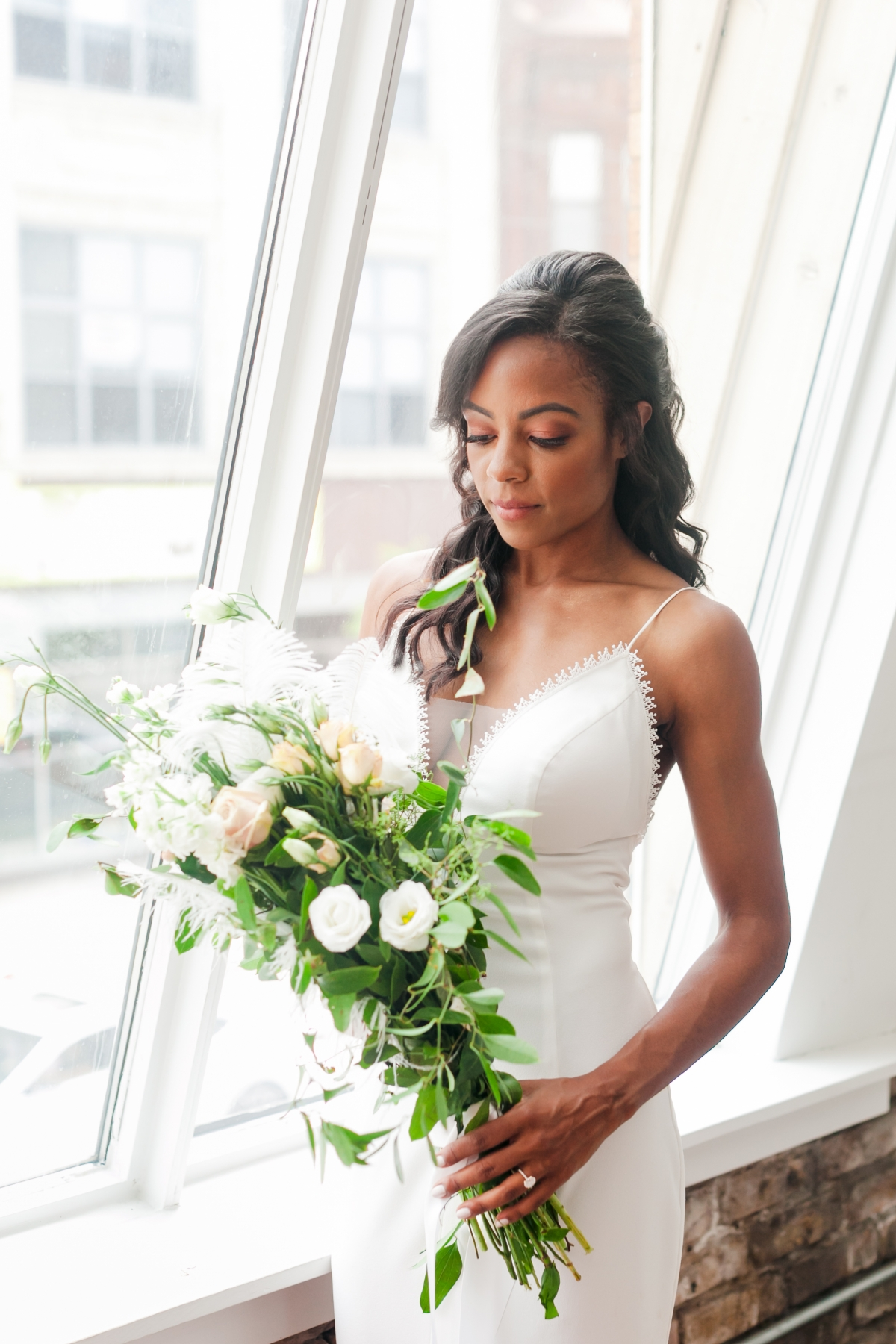 Chicago DL Loft Wedding Inspiration Janet D Photography 43