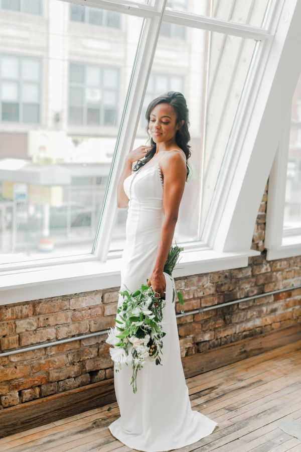 Chicago DL Loft Wedding Inspiration Janet D Photography (47)