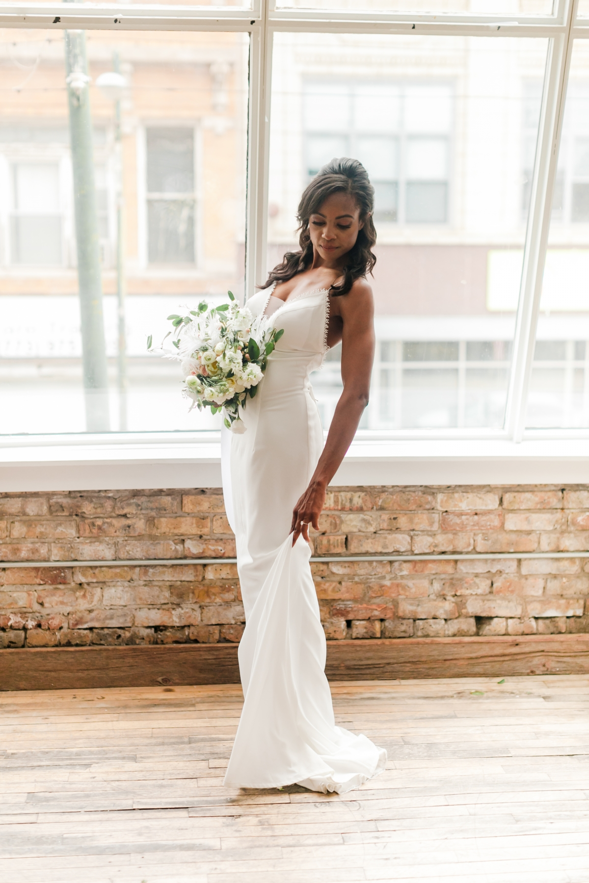 Chicago DL Loft Wedding Inspiration Janet D Photography 50