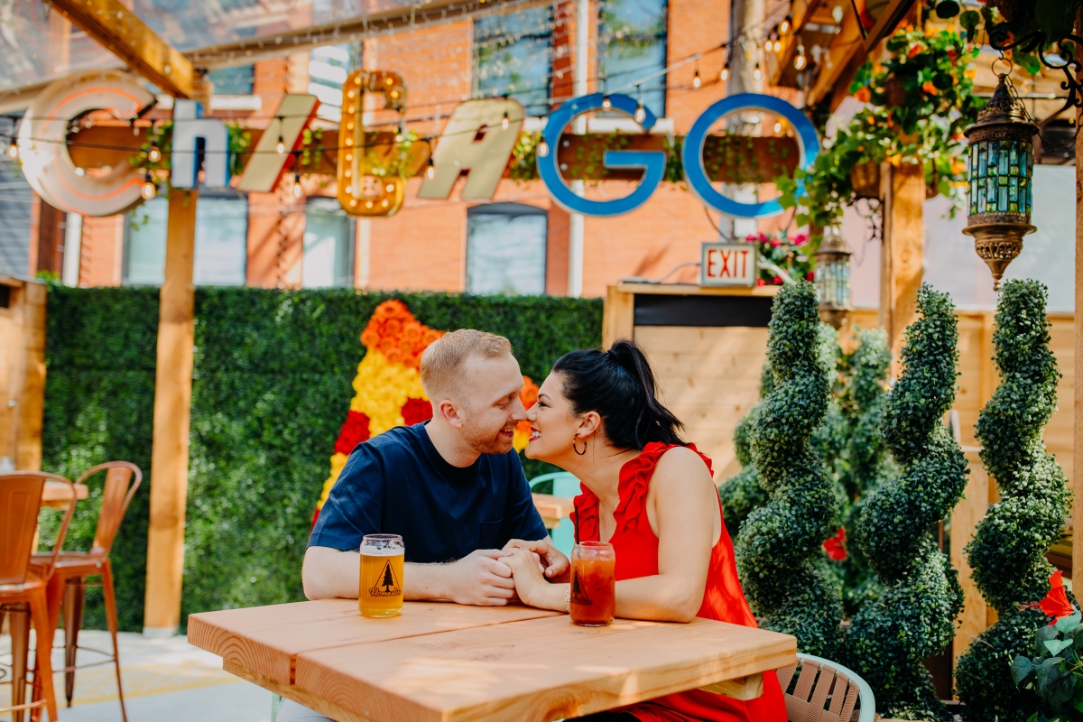 Homeslice Chicago Pizza Engagement Session
