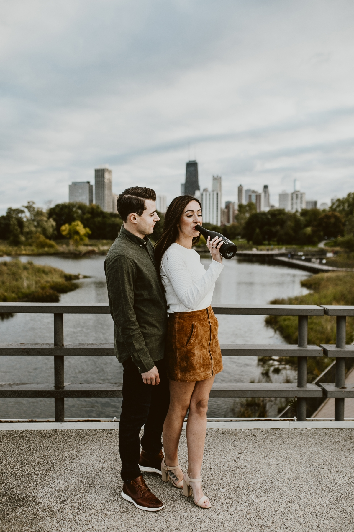 Chicago Lincoln Park Engagement Photos Uriel Photography 51