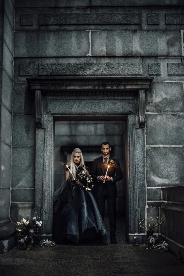 Chicago Wiccan Halloween Wedding Ideas