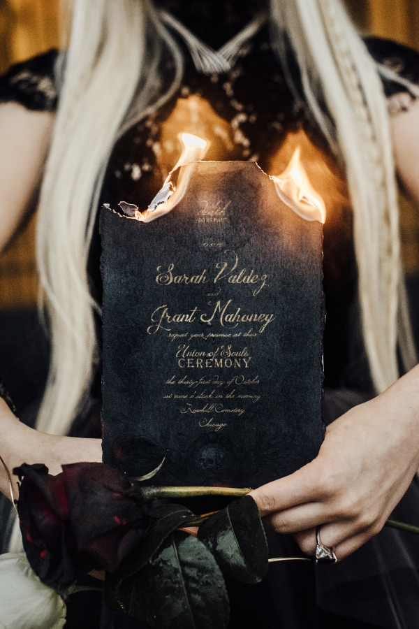 Chicago Wiccan Halloween Wedding Ideas