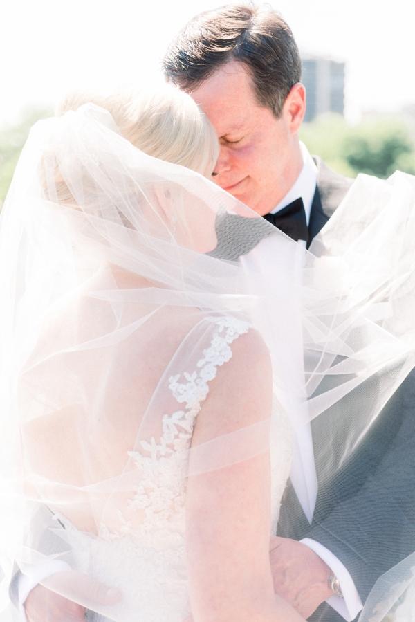 Elegant Black Tie Wedding Loyola University Chicago Tiffaney Childs