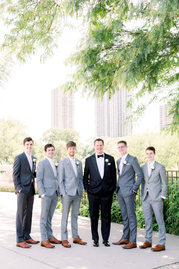 Elegant Black Tie Wedding Loyola University Chicago Tiffaney Childs (24)