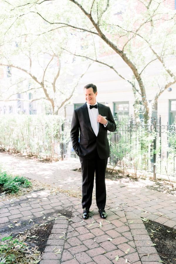 Elegant Black Tie Wedding Loyola University Chicago Tiffaney Childs (25)