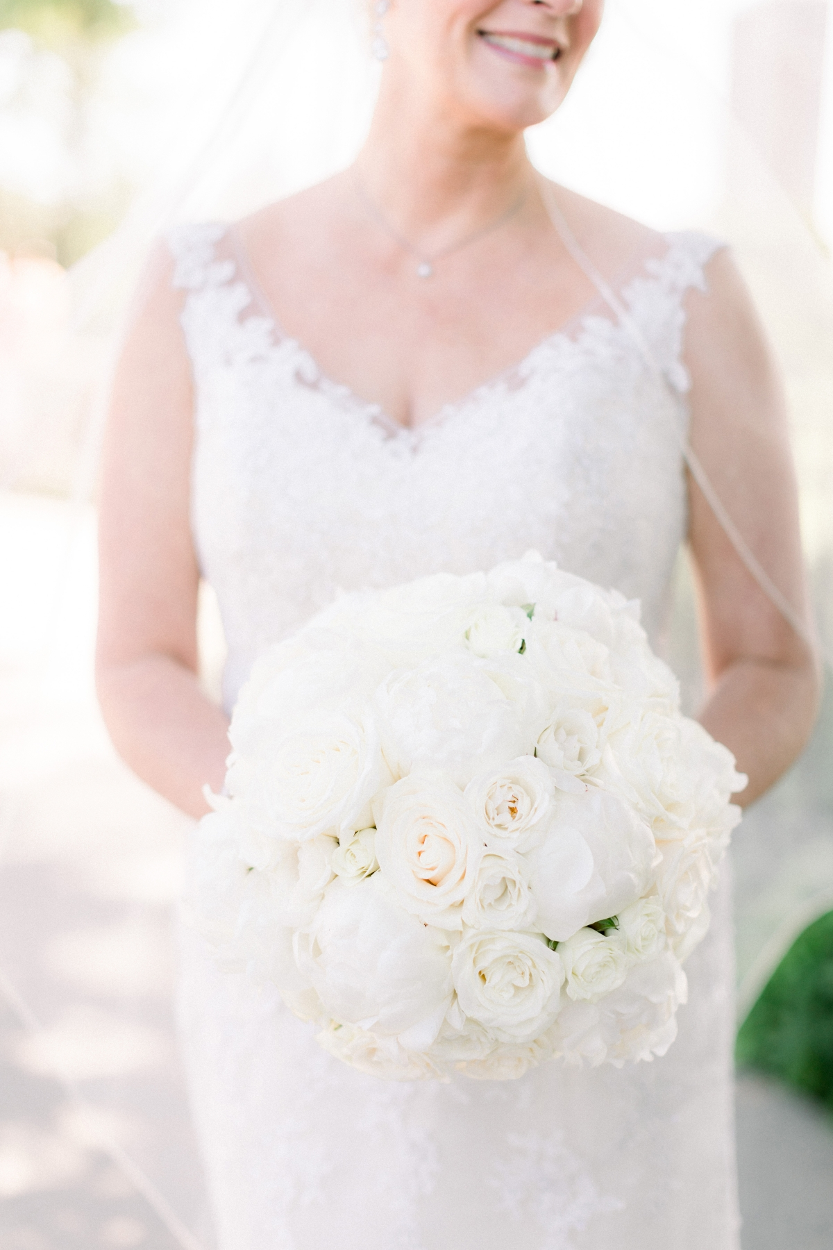 White Bridal Bouquet Yanni Design Studio
