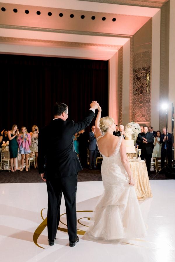 Elegant Black Tie Wedding Loyola University Chicago Tiffaney Childs (40)