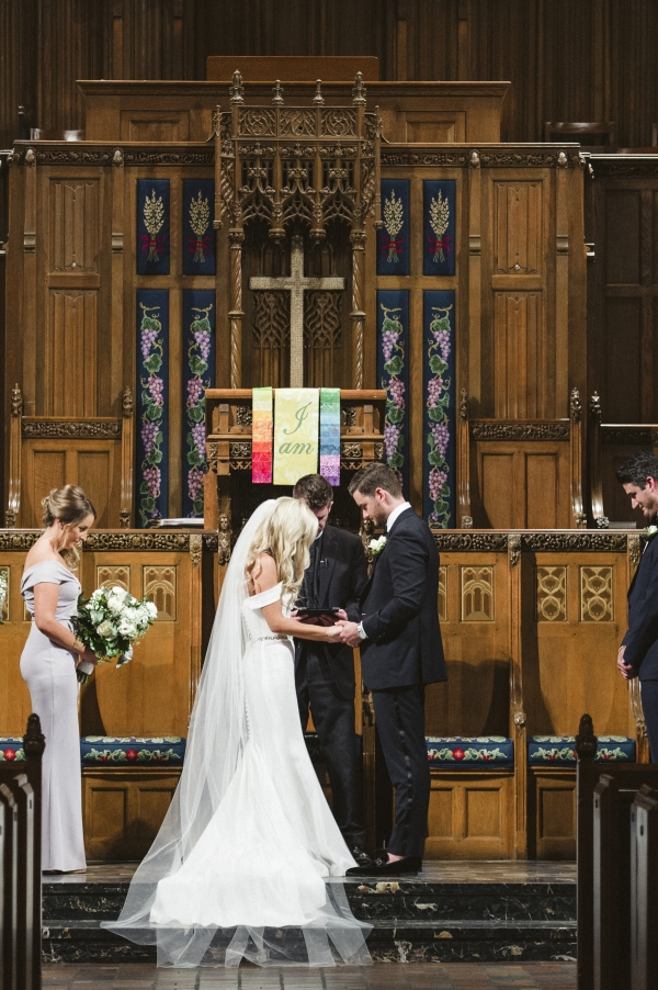 Chicago Wedding Fourth Presbyterian