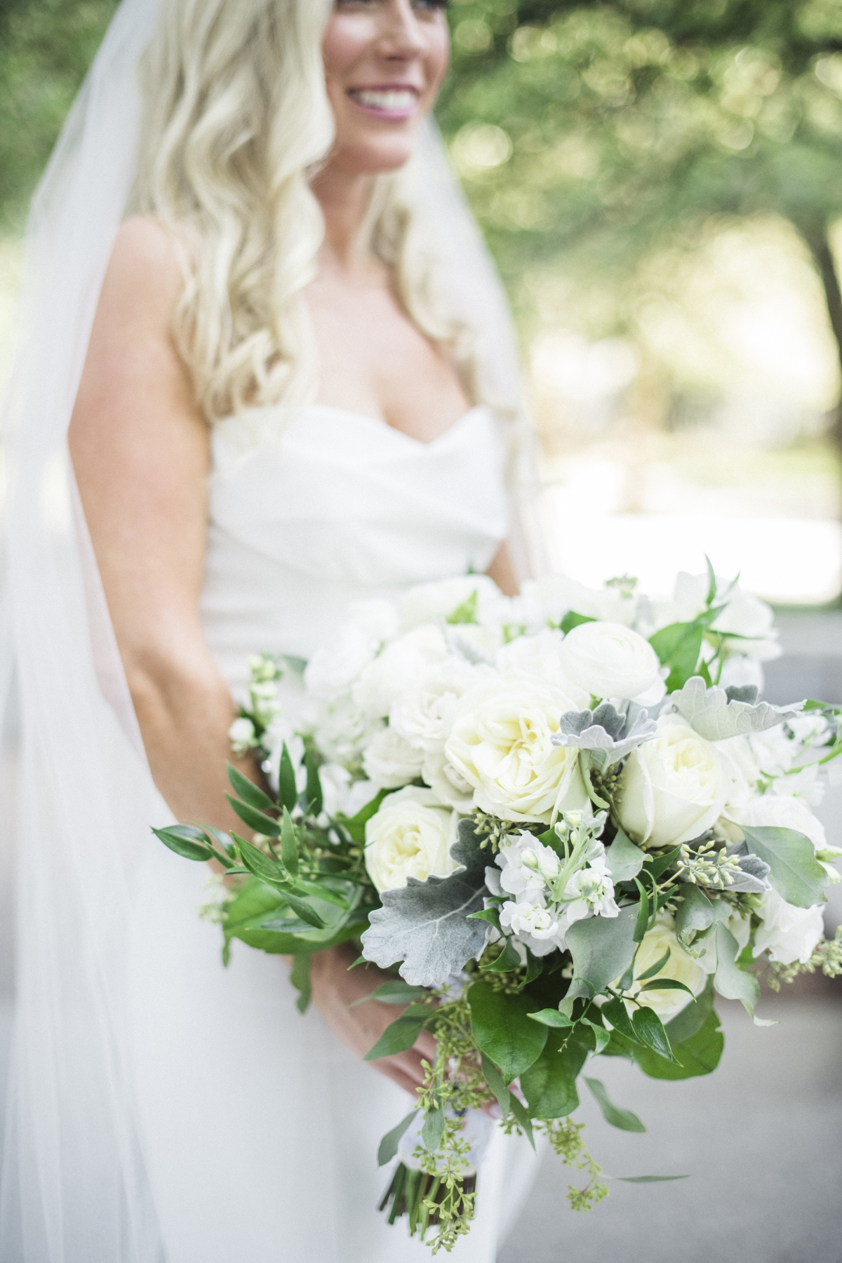 Ivory Bridal Bouquet from Dilly Lily