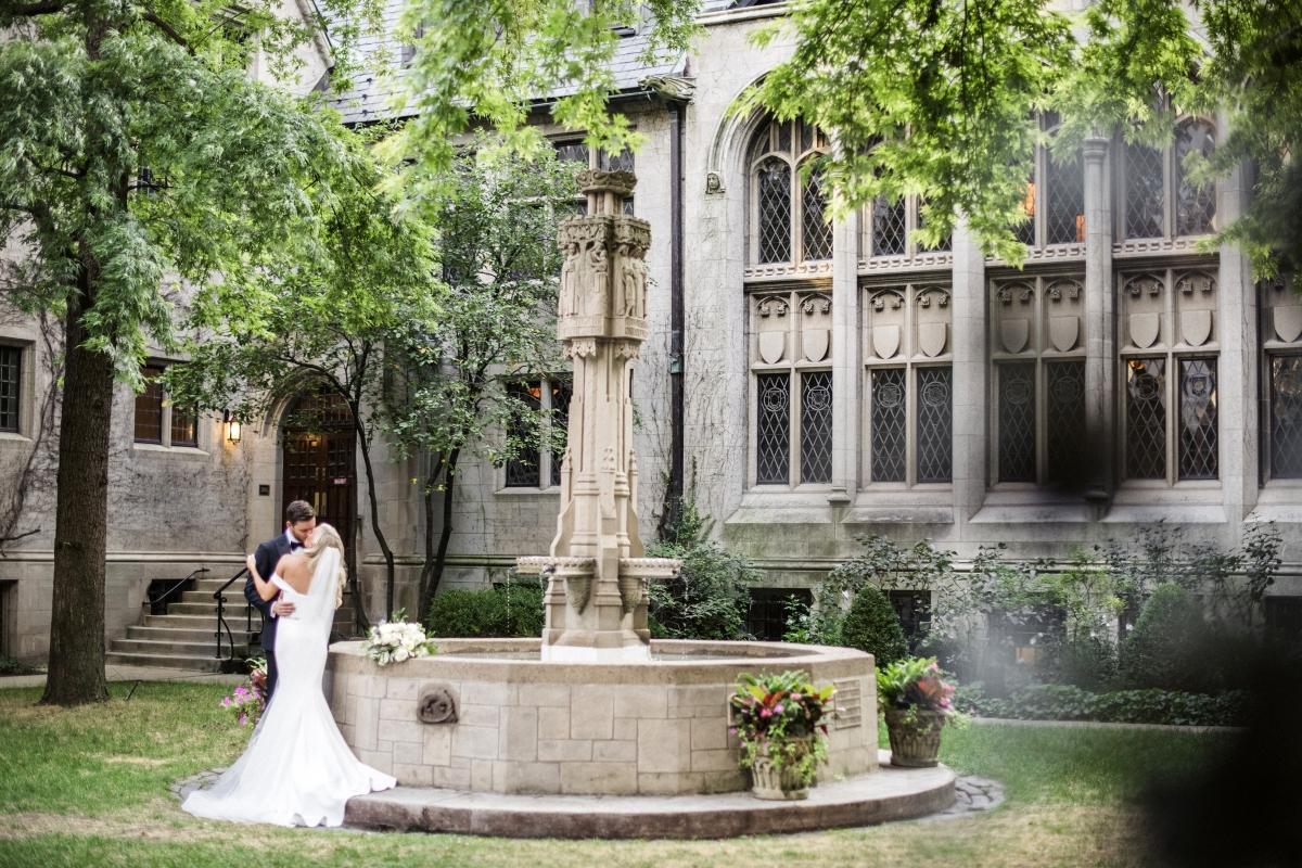 Chicago Fourth Presbyterian Wedding