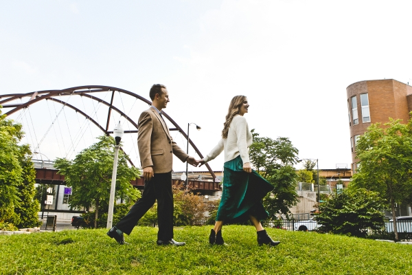 Engagement Photos on the 606 Chicago (1)