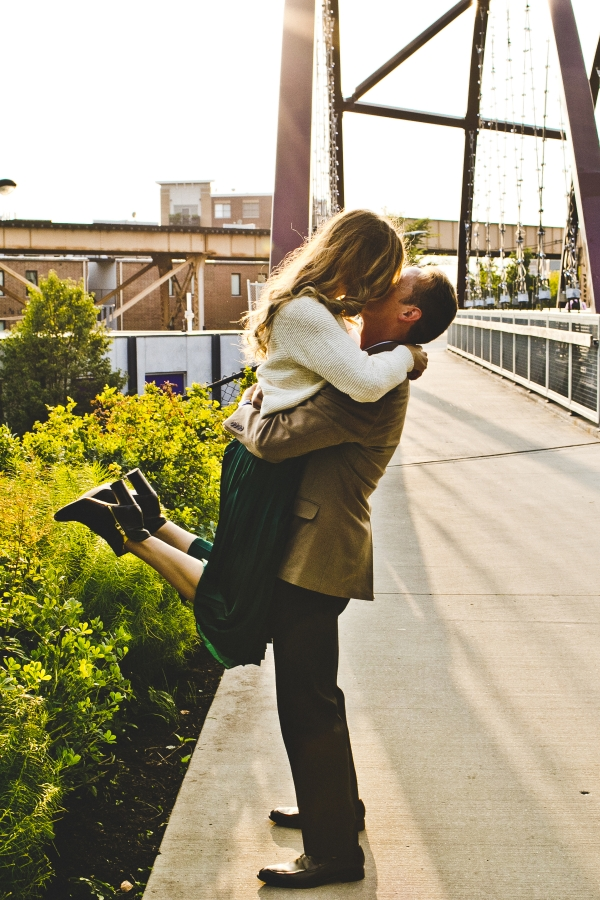 Engagement Photos on the 606 Chicago (3)