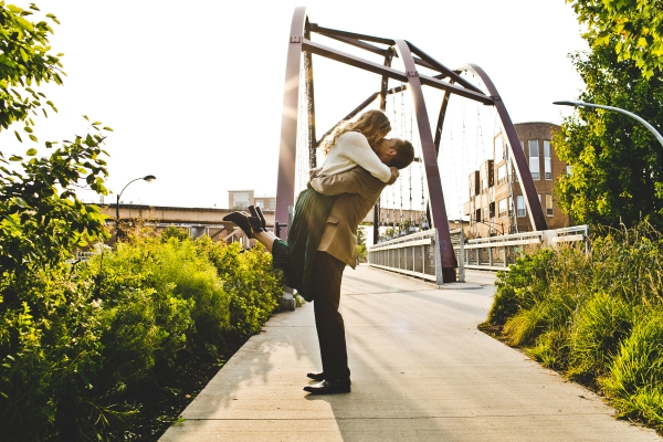 Engagement Photos on the 606 Chicago (5)