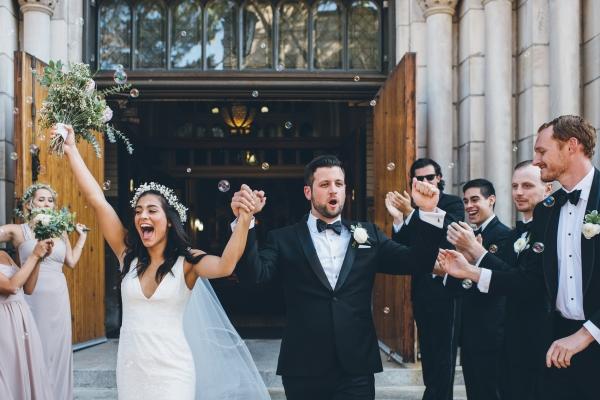 Fun Boho Chicago Wedding at The Drake Hotel (22)