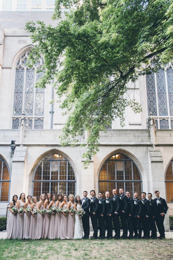Fun Boho Chicago Wedding at The Drake Hotel (28)