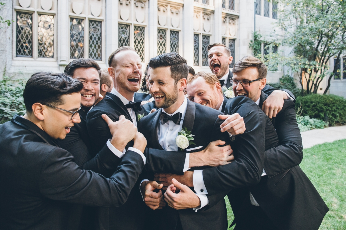 Chicago Groom and Groomsmen