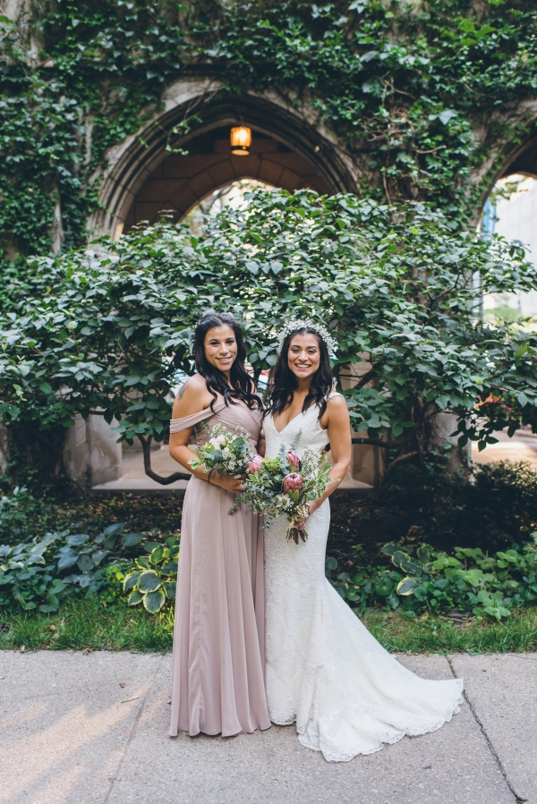 Fun Boho Chicago Wedding at The Drake Hotel (34)