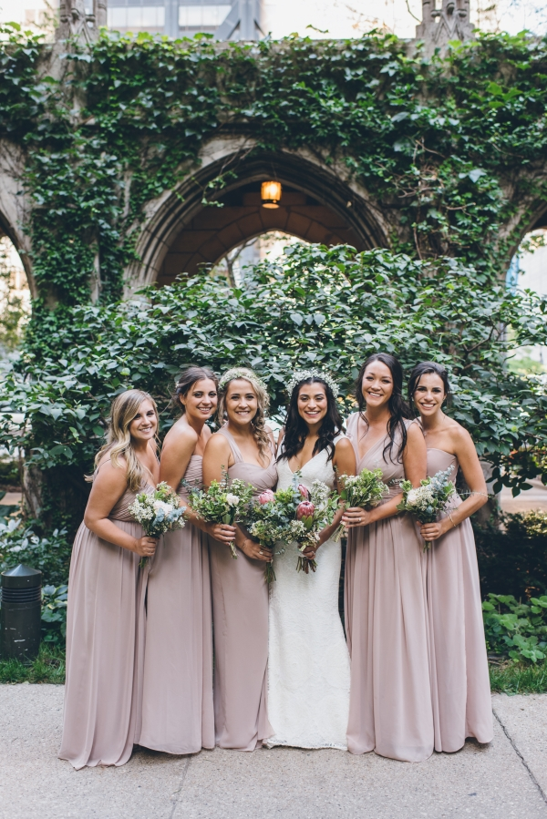 Fun Boho Chicago Wedding at The Drake Hotel (36)