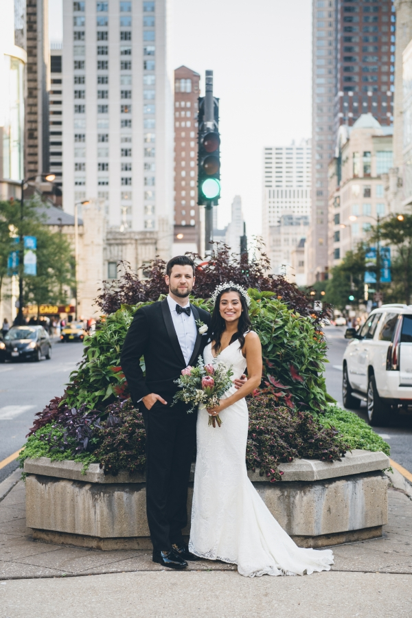 Fun Boho Chicago Wedding at The Drake Hotel (43)