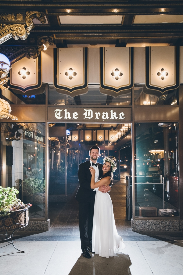 Fun Boho Chicago Wedding at The Drake Hotel (64)