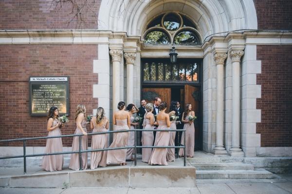 Fun Boho Chicago Wedding at The Drake Hotel (8)