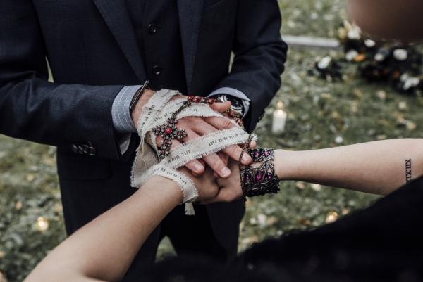 Handfasting Ceremony Wiccan Wedding