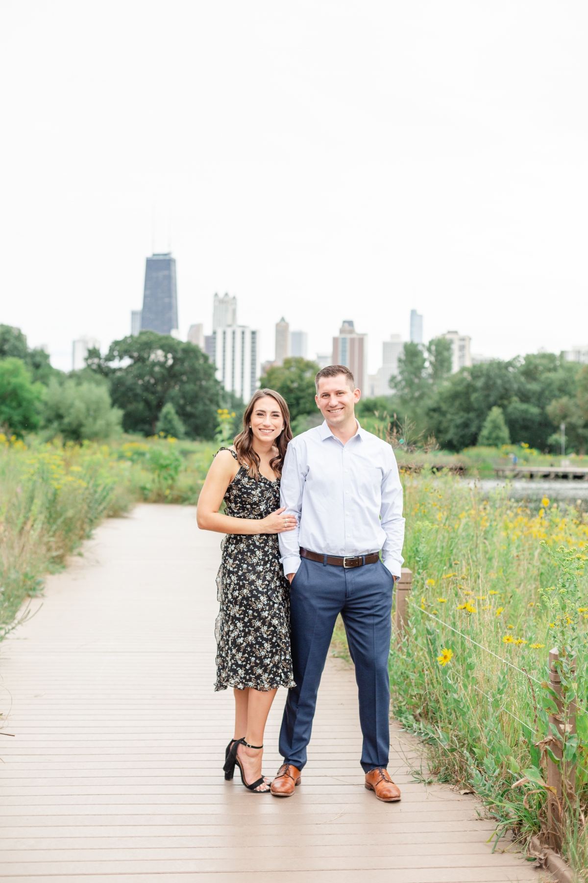 Chicago Lincoln Park Engagement Photos