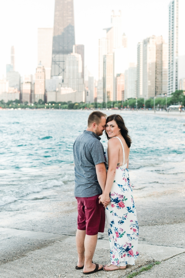 Lakefront Trail Chicago Engagement Session Janet D Photography (11)