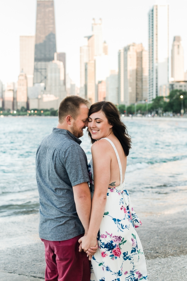 Lakefront Trail Chicago Engagement Session Janet D Photography (12)