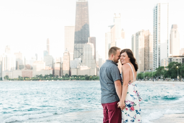 Lakefront Trail Chicago Engagement Session Janet D Photography (13)