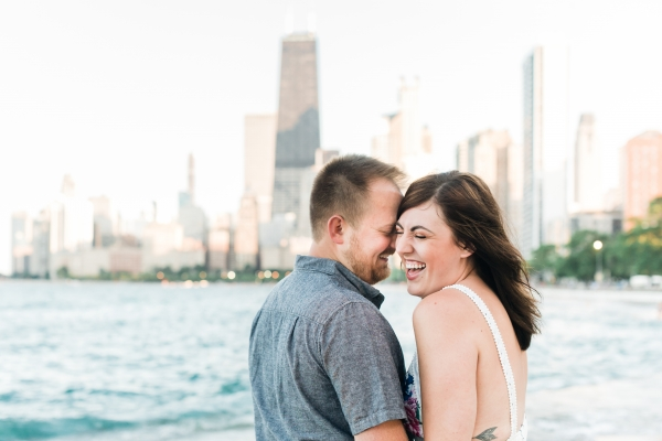 Lakefront Trail Chicago Engagement Session Janet D Photography (14)