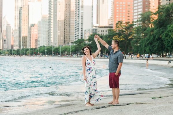 Lakefront Trail Chicago Engagement Session Janet D Photography (19)