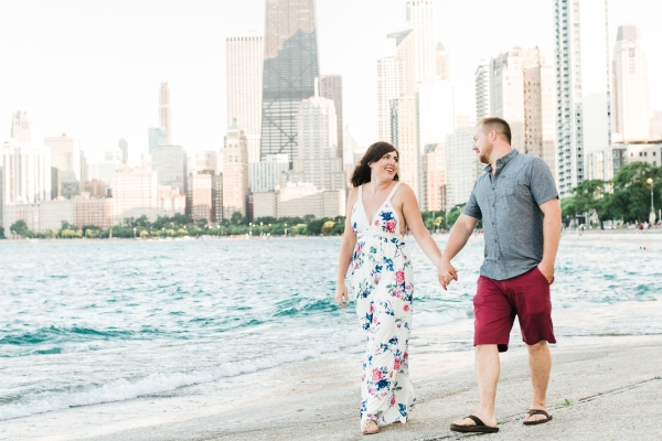 Lakefront Trail Chicago Engagement Session Janet D Photography (2)