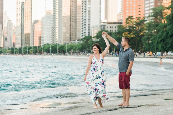 Lakefront Trail Chicago Engagement Session Janet D Photography (20)