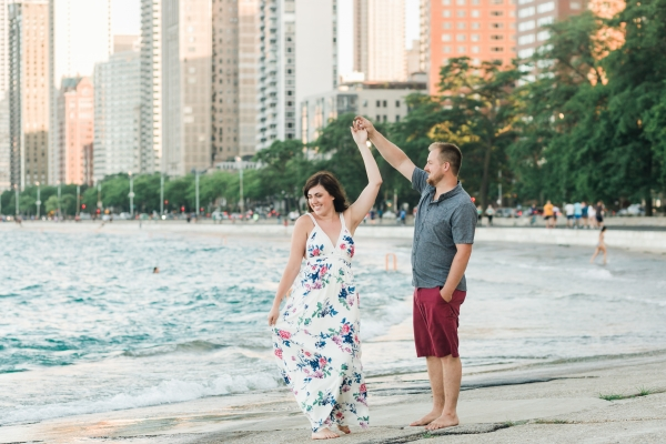Lakefront Trail Chicago Engagement Session Janet D Photography (21)