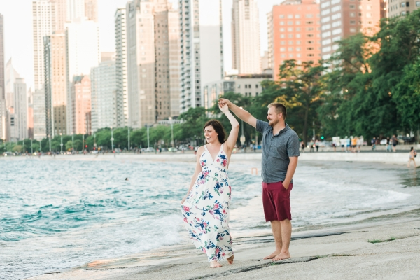 Lakefront Trail Chicago Engagement Session Janet D Photography (22)