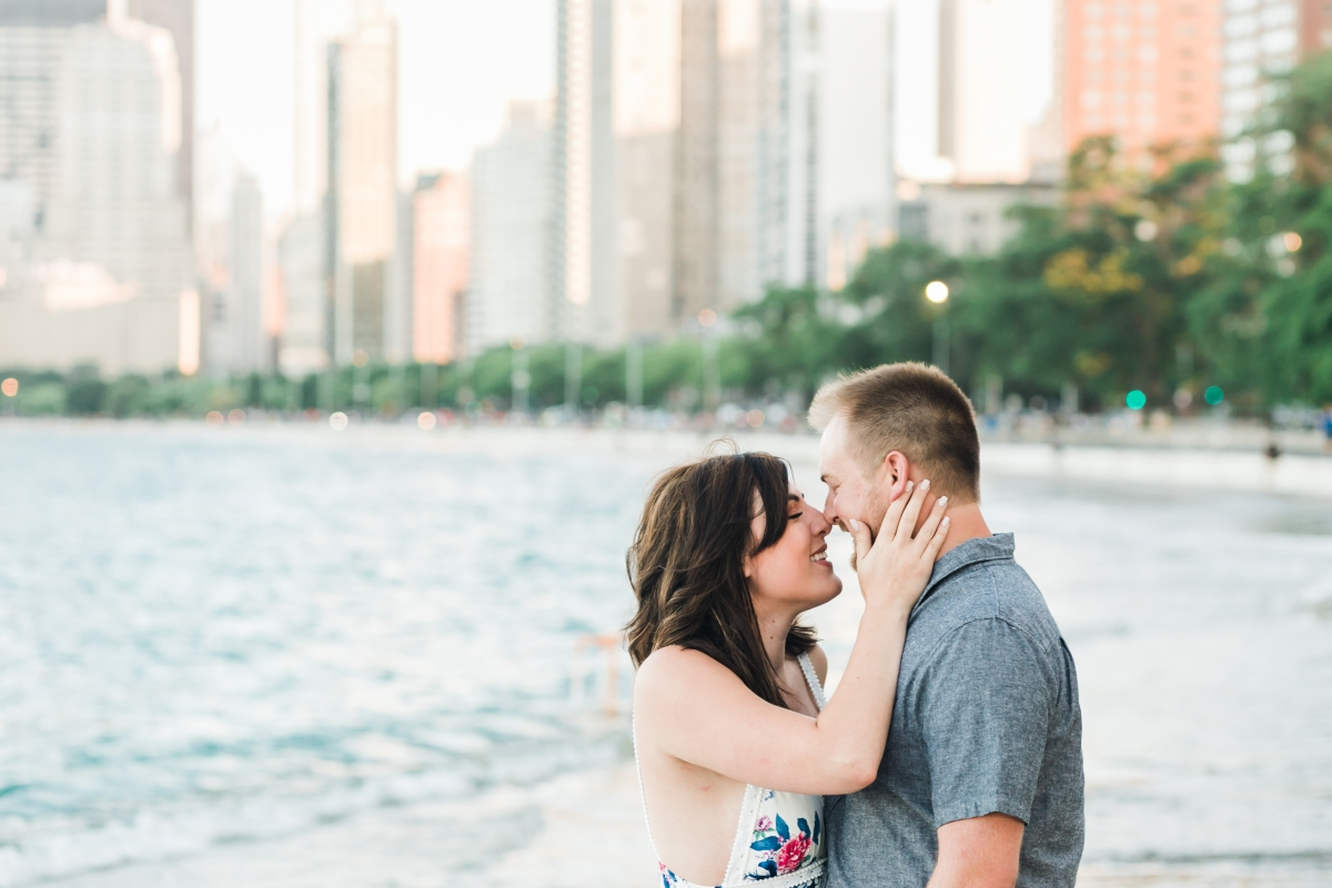 Lakefront Trail Chicago Engagement Session Janet D Photography 23