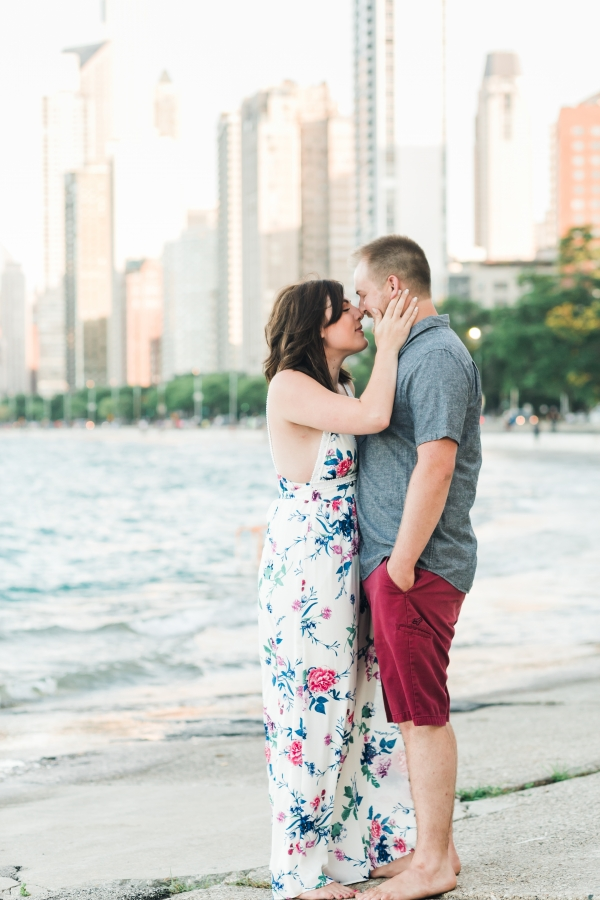 Lakefront Trail Chicago Engagement Session Janet D Photography (24)