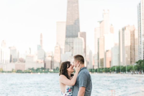 Lakefront Trail Chicago Engagement Session Janet D Photography (25)