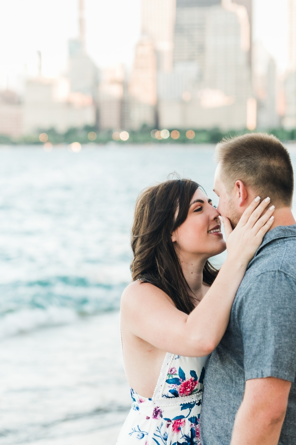 Lakefront Trail Chicago Engagement Session Janet D Photography (26)