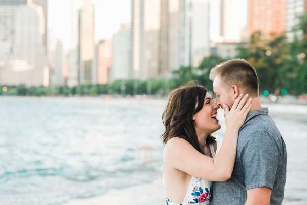 Lakefront Trail Chicago Engagement Session Janet D Photography (27)